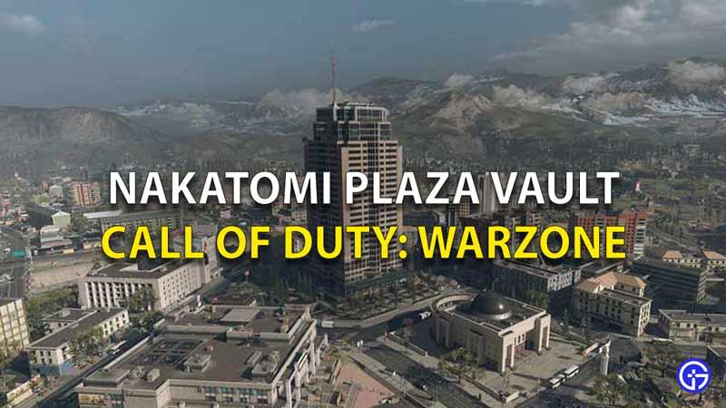 Nakatomi Plaza Vault COD
