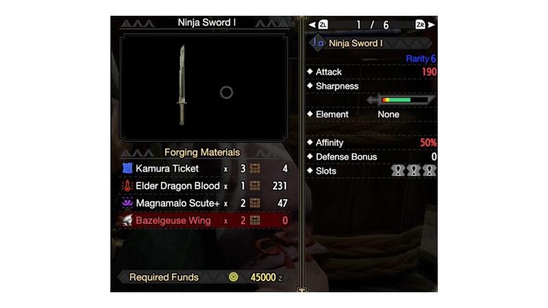 Ninja Sword Build