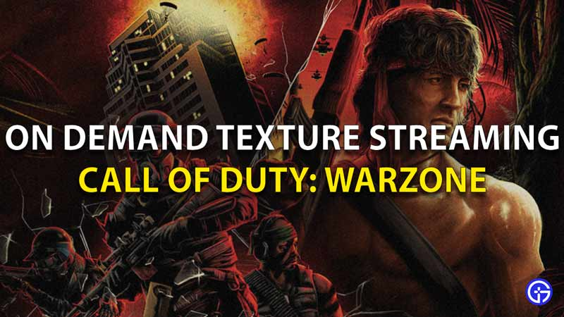 On Demand Texture Warzone
