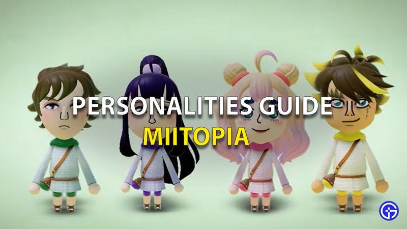 Personalities Guide