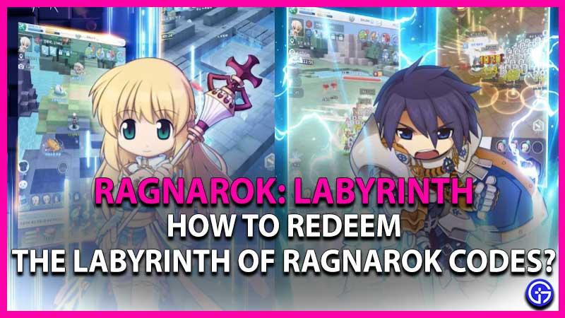 Ragnarok: Labyrinth Codes