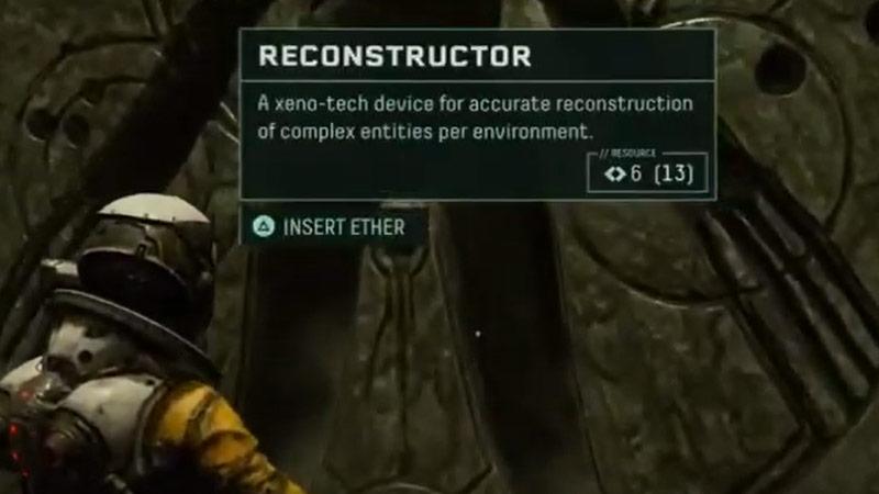 Reconstructor