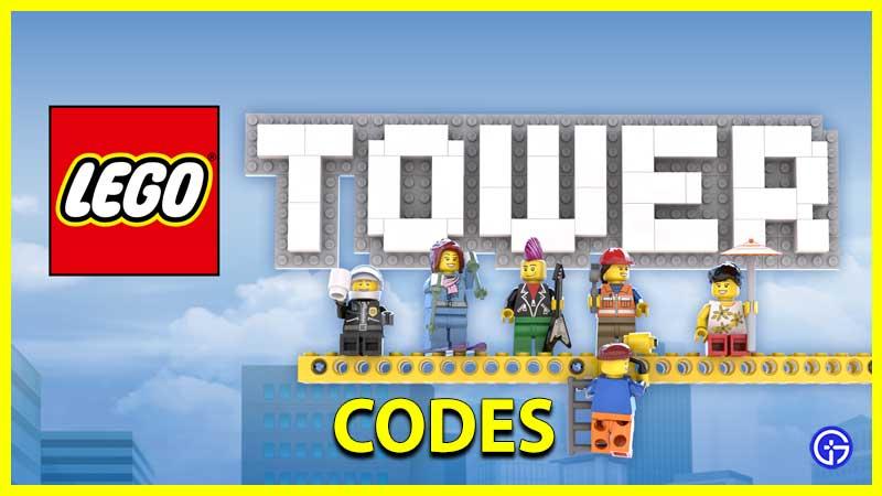 Redeem LEGO Tower Ticket Codes