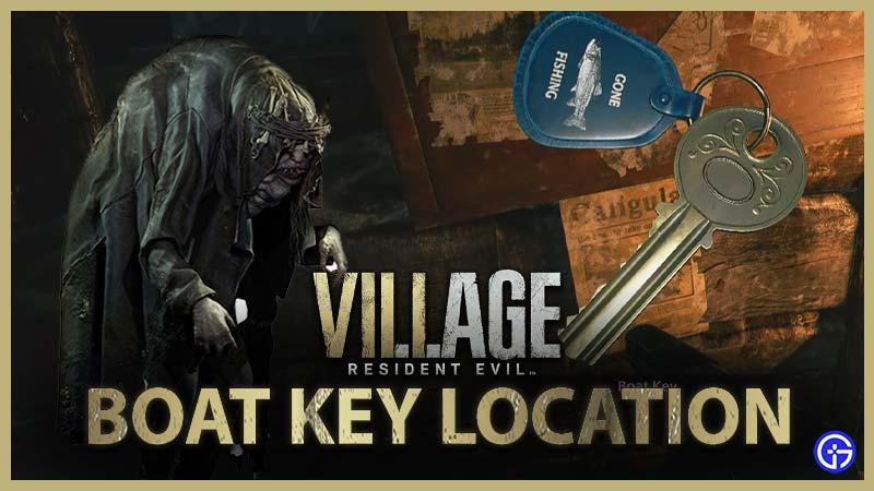 Resident Evil Village Boat Key Location