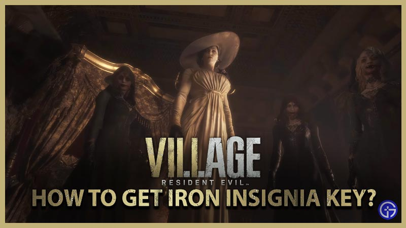 Resident Evil Village Get Iron Insignia Key Solve Piano Puzzle