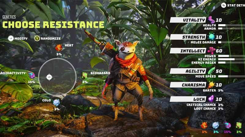Resistance options