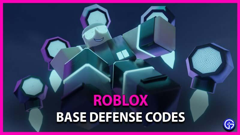 Roblox Base Defense Codes