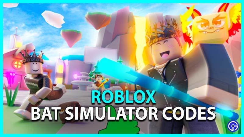Roblox Bat Simulator Codes