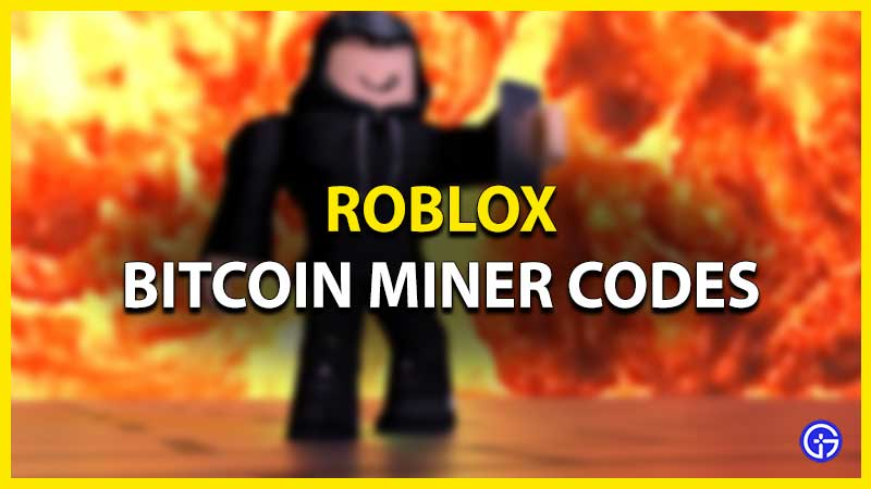 Roblox Bitcoin Miner Codes