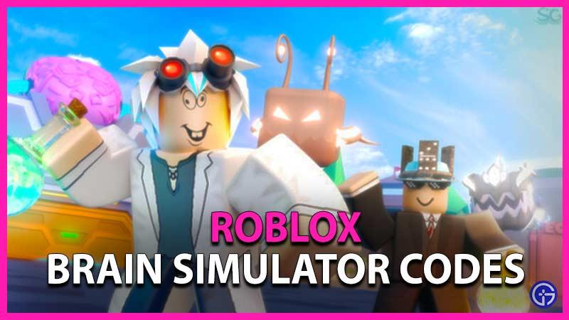 Roblox Brain Simulator Codes