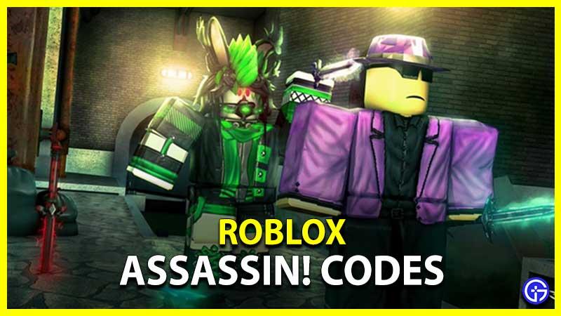 Roblox Codes Assassin!