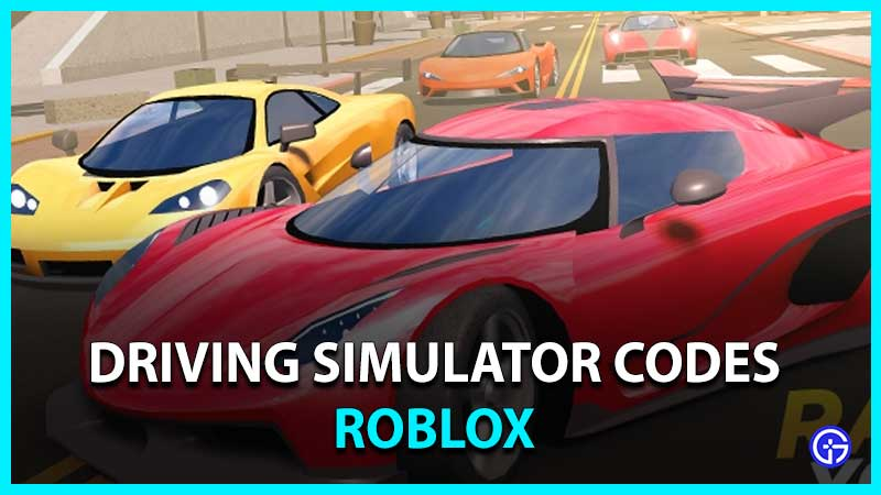 Roblox Driving Simulator Codes
