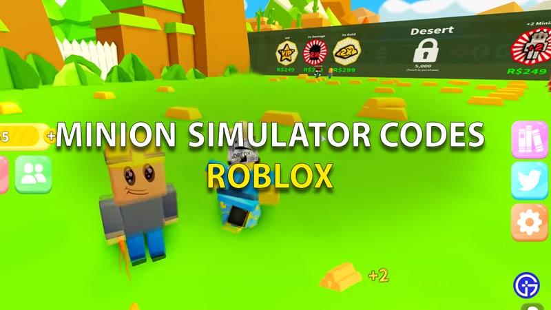 Roblox Minion Simulator Codes
