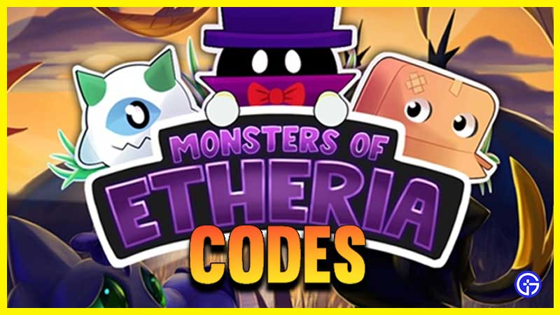 Roblox Monsters of Etheria Codes
