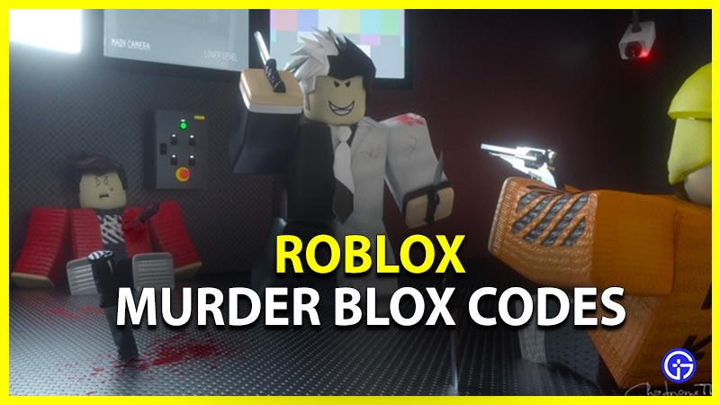 Roblox Murder Blox Codes