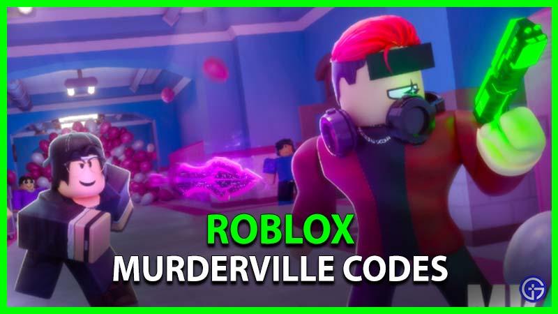 Roblox Murderville Codes