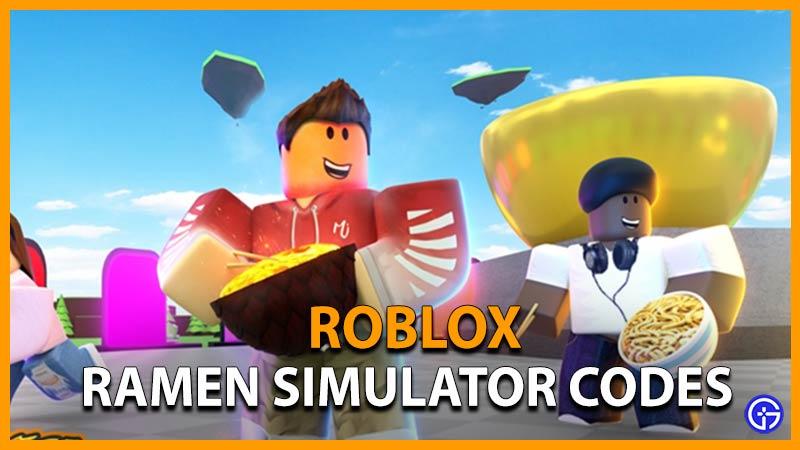 Roblox Ramen Simulator Codes