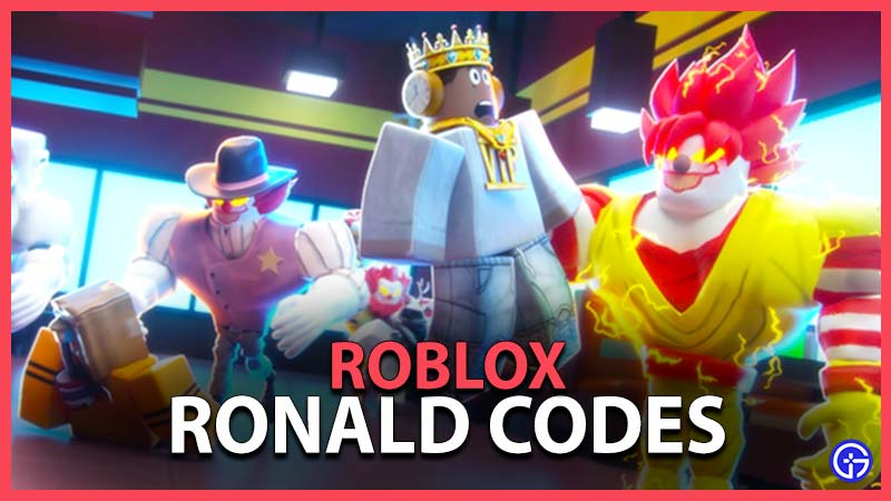 Roblox Ronald Codes