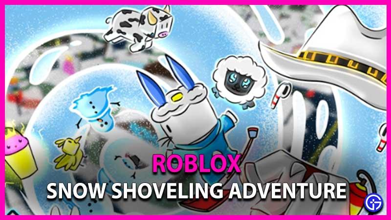 Roblox Snow Shoveling Adventure