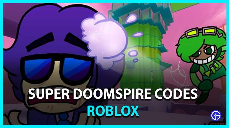 Roblox Super Doomspire Codes