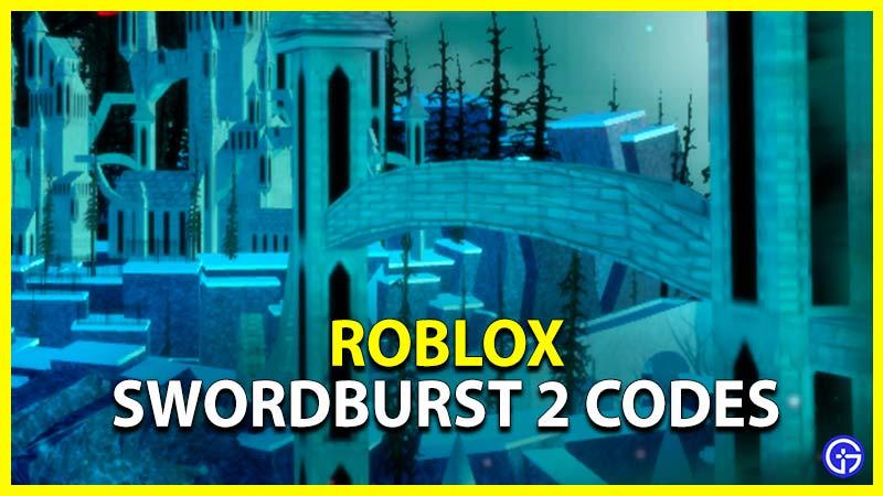 Roblox Swordburst 2 Codes