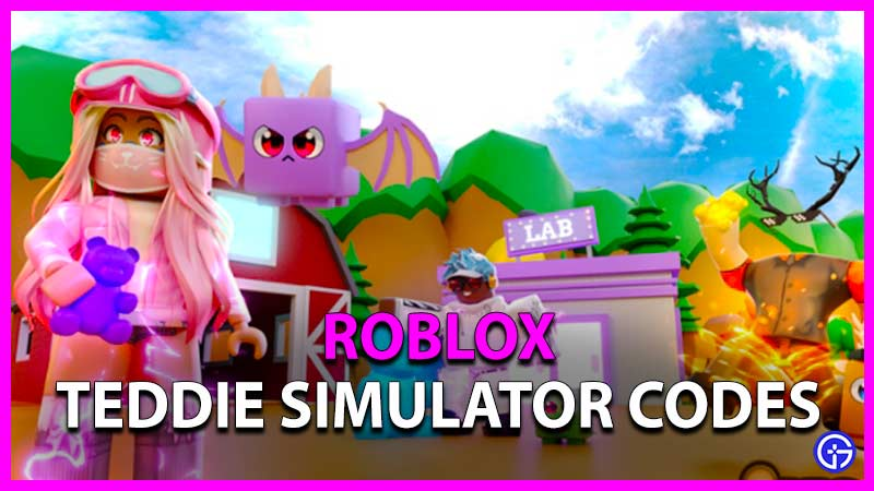 Roblox Teddie Simulator Codes