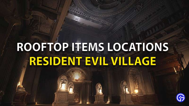 Rooftop Item Locations