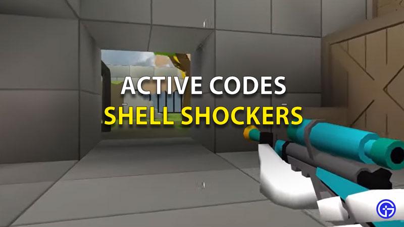 Shell Shocker Codes Reedem
