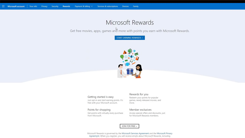 Free Robux Microsoft Rewards