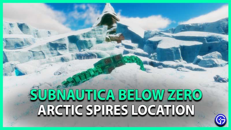 Subnautica Below Zero Arctic Spires