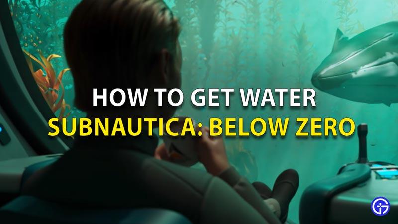Subnautica Below Zero Water Guide