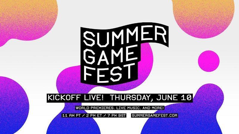 Summer Game Fest 2021 June 10th