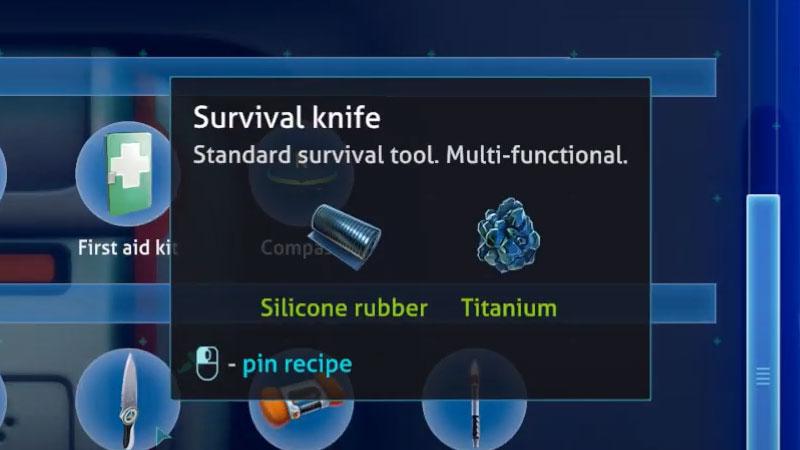 Survival Knife Subnautica