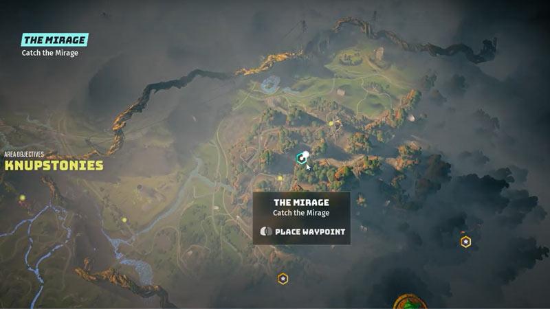 The Mirage Location