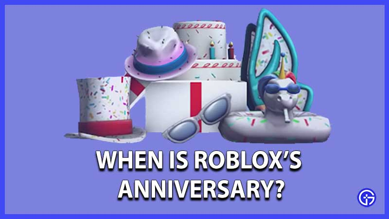 when is roblox anniversary