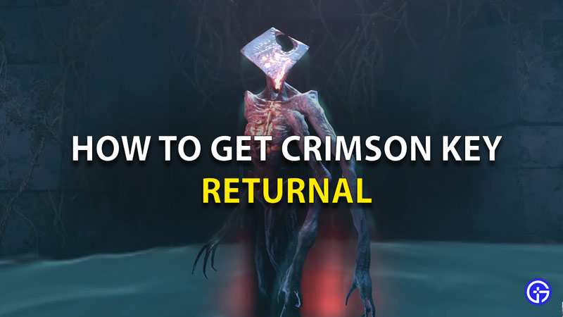 Where To Find The Crimson Key In Returnal