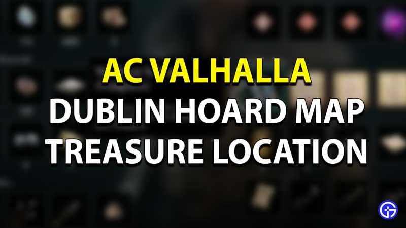 AC Valhalla - Dublin Treasure Map