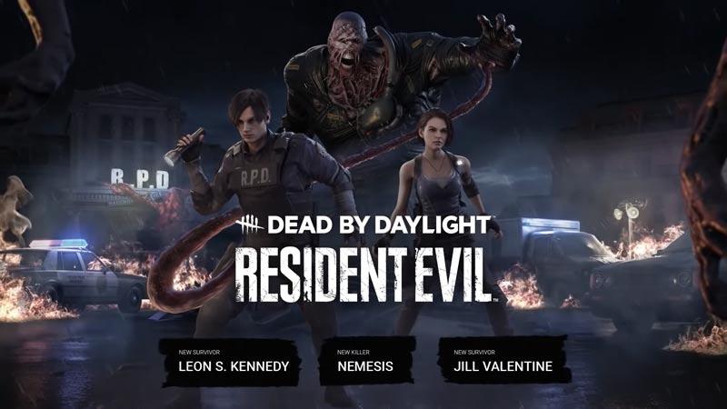 Dead By Daylight Resident Evil Chapter: All Killer And Survivor Perks