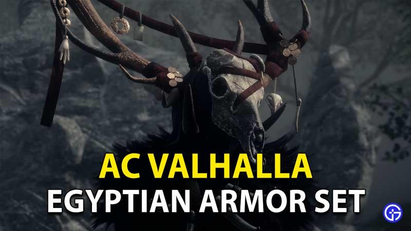 Assassin's Creed Valhalla: How To Unlock Egyptian Armor Set
