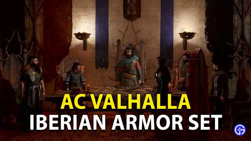 Assassin's Creed Valhalla: How To Unlock Iberian Armor Set