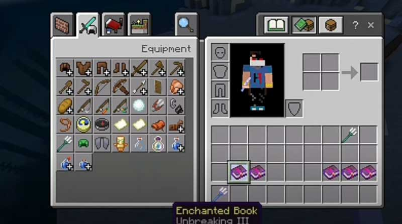 Minecraft Trident enchantments