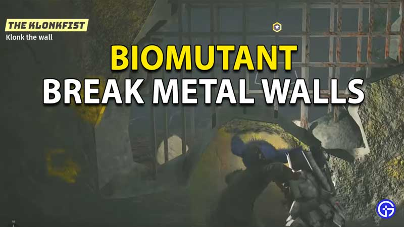 Biomutant: How To Break Metal Wall To Third Moth Nest In Outpost