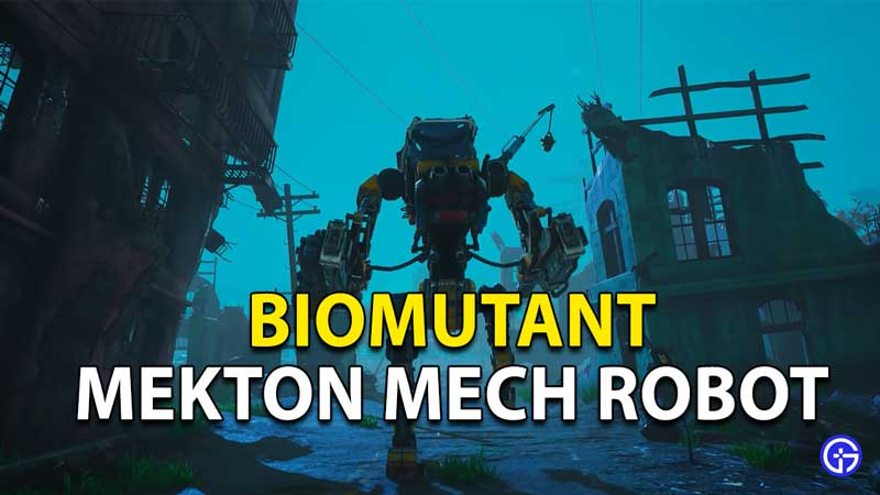 Biomutant: How to Get a Mech Robot