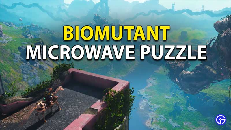 Biomutant: How To Solve Fry-Sparkers Microwave Puzzle