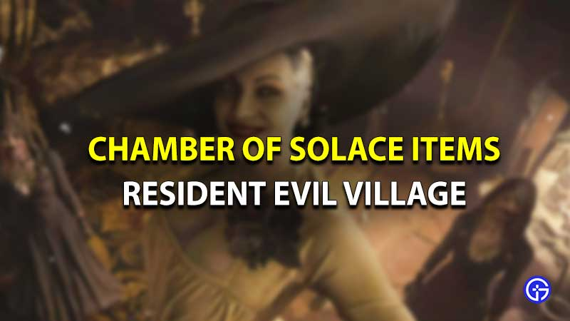 Resident evil village chamber of solace