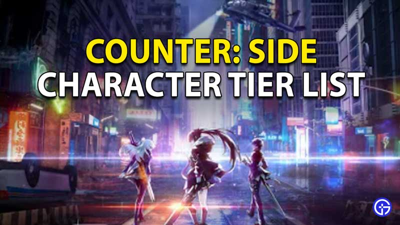 Counter Side Tier List