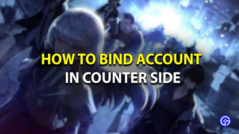 Counter side link account