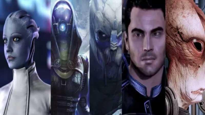 Mass effect legendary edition squad members