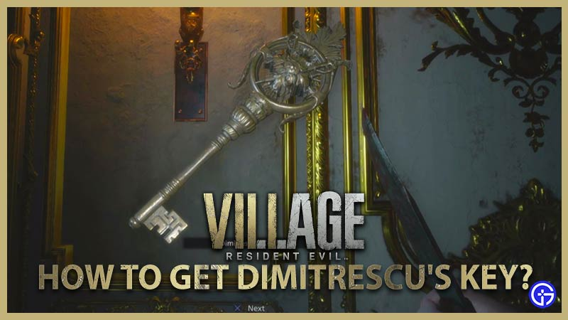 how to find and get dimitrescu's key in resident evil village