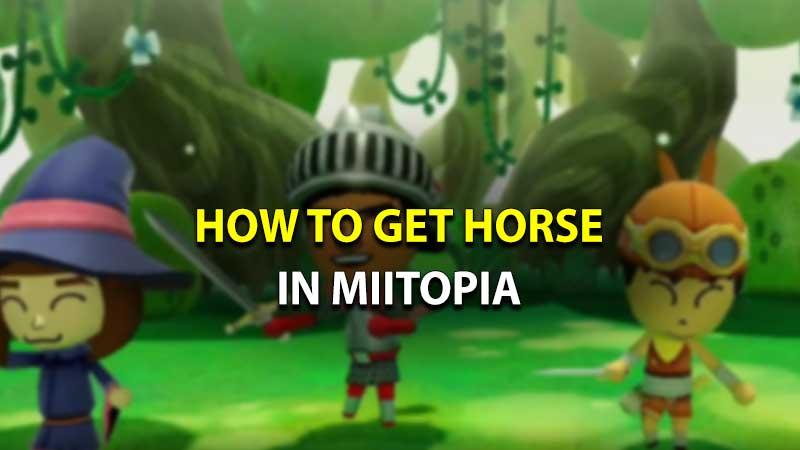Miitopia Horse